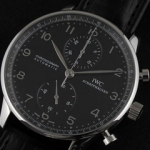 아이더블유씨 Portuguese Chronograph in stainless steel IW371417-3