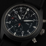 아이더블유씨 Pilot`s Watch Classic Chrono-Automatic TOPGUN 378901-1