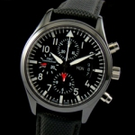 아이더블유씨 Pilot`s Watch Classic Chrono-Automatic TOPGUN 378901-2