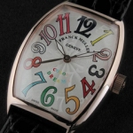 프랭크뮬러 (FM 6269) FRANCK MULLER Curvex Men Colour Dreams SWISS ETA 2824-2 A/T