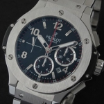 위블로 (HB 7946)HUBLOT Big Bang SSSS Steel Bez CF Black SWISS 7750 A/T-2